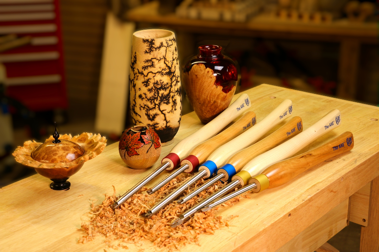 The AXE™ Woodturning Tools